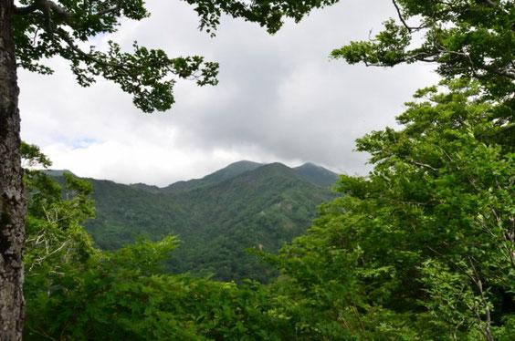 六本桧からの三ノ峰