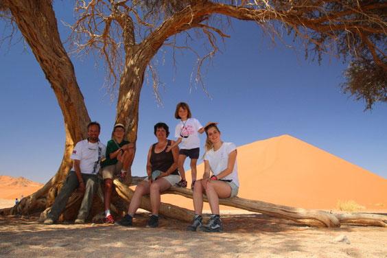 Dunes de Sesriem - Namibie TDM
