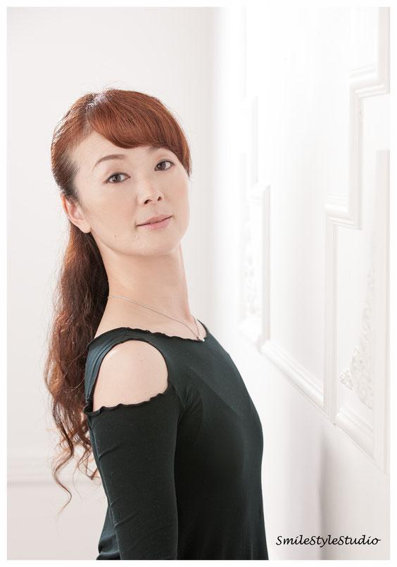 バレエ教室代表プロフィール カメラHibiki 2013.05 原宿SmilestyleStudio  Canon1DsMK3