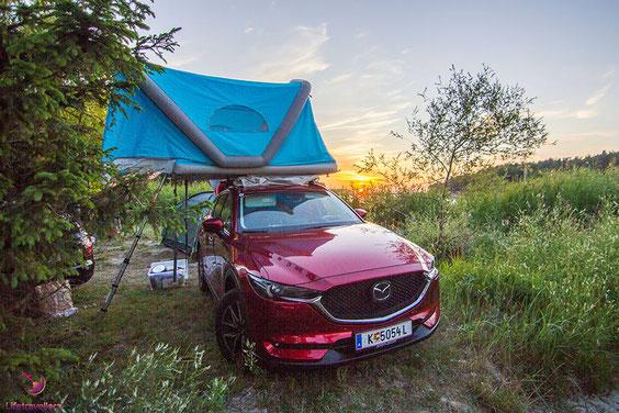 Camping in Polen auf unserem Roadtrip ans Nordkap