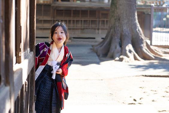 板橋区 城山熊野神社 七五三 出張撮影 カメラマン