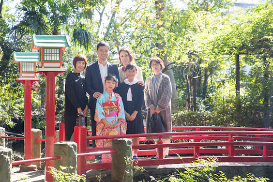 世田谷八幡神社 七五三 出張撮影 女性カメラマン 料金格安 こども