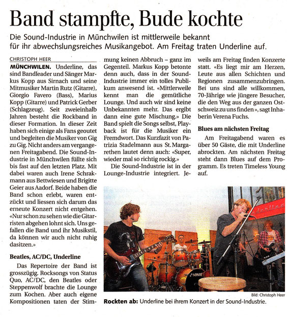 Thurgauerzeitung 16.10.2012