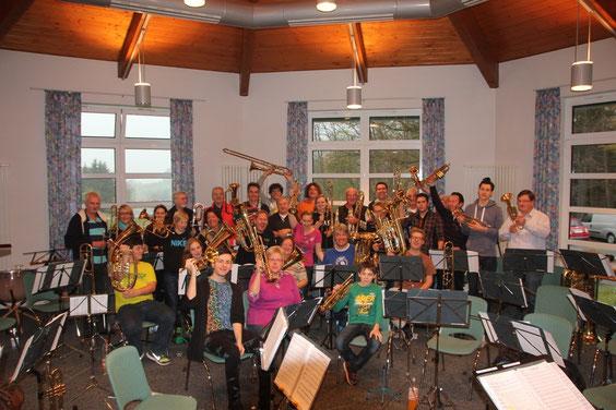 Unser Probenwochenende vom 15.-17.11.2013 im Odenwald