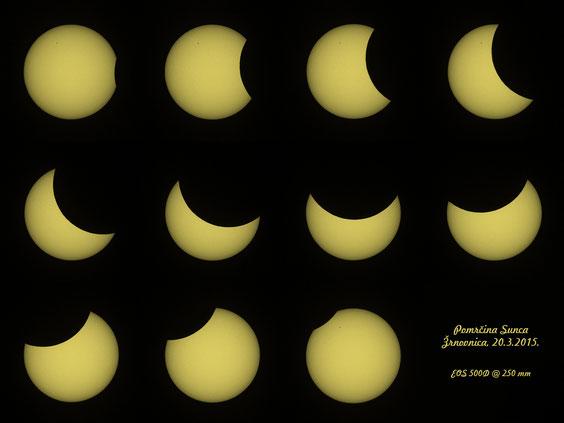 Pomrčina Sunca 20.3.2015.