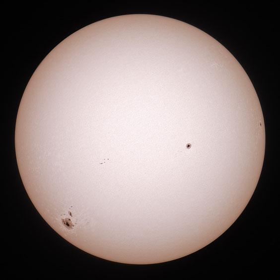 Sunčeve pjege 19.10.2014.