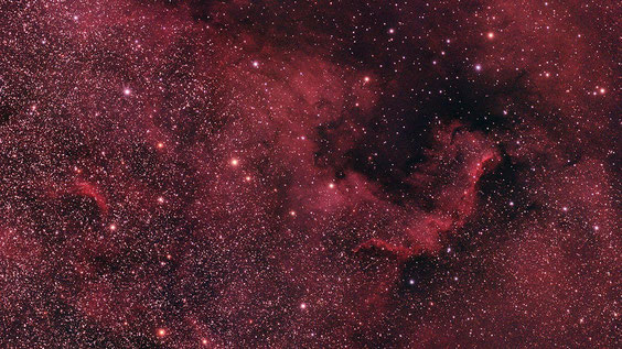 Maglica Sjeverna Amerika NGC 7000