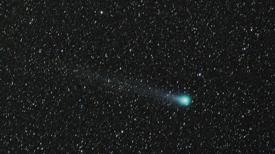 Kometa Lovejoy snimljena 135 mm objektivom 12.2.2015.