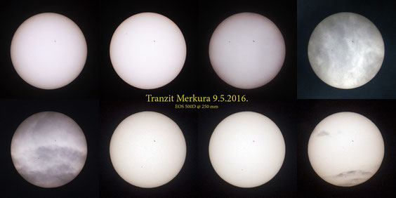 Tranzit Merkura 9.5.2016.