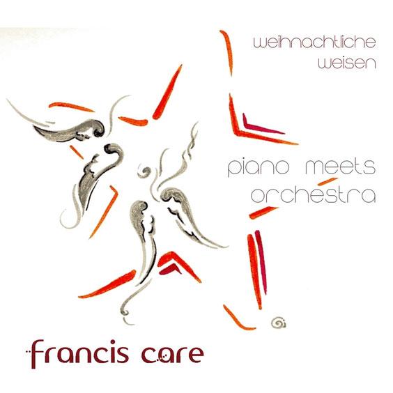 """CD-Cover Vorderseite """"Weihnachtliche Weisen"""" von Francis Care"""