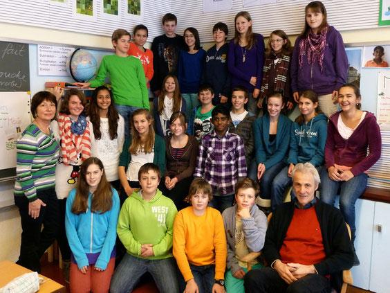 Klassenphoto 3c / P. Kläntschi / 3. 12. 2012