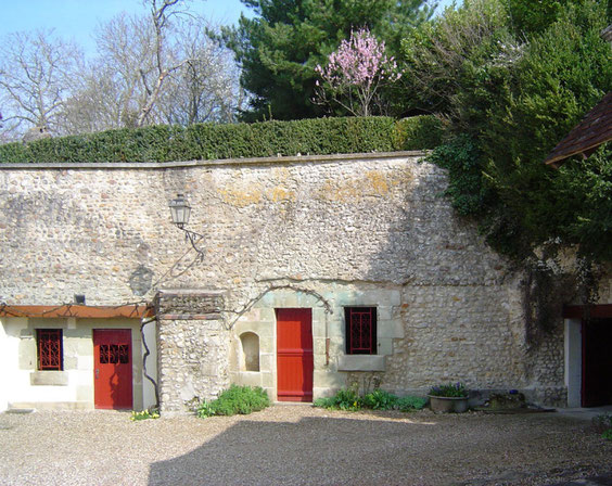 Anciennes habitation troglodytiques aux Caves blanches