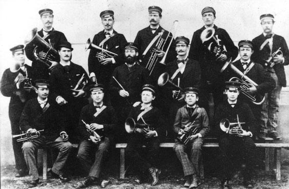 La musique de Saint Christophe, autour de Jules Egal, vers 1900