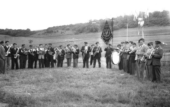 Elle était présente aux diverses fêtes locales comme ici lors du Pèlerinage de 1950