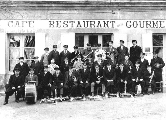 La musique municipale en 1937