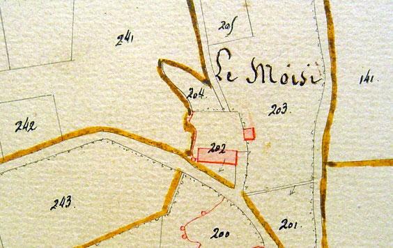 En 1834, deux bâtiments existaient.