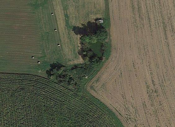 Vue aérienne tirée de Google Earth