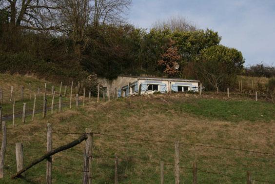 Le lieu-dit vu depuis la route de la Chartrie.