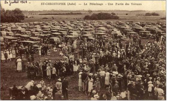 Le pèlerinage automobile de 1929