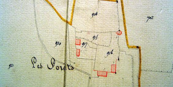 Le plan cadastral de 1834