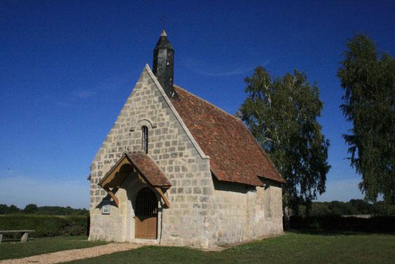 La chapelle Saint Gilles après restauration en 2010