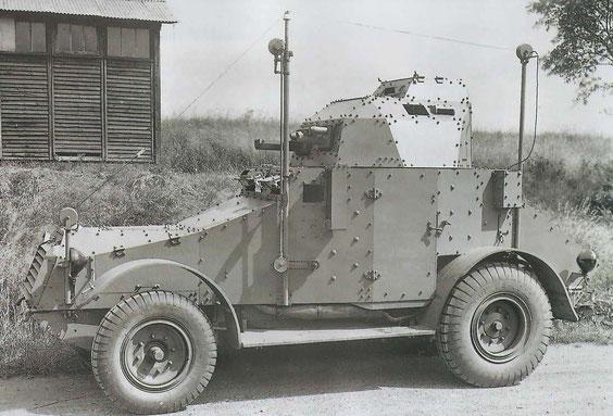 Le Panhard 175, premier véhicule blindé produit par Panhard