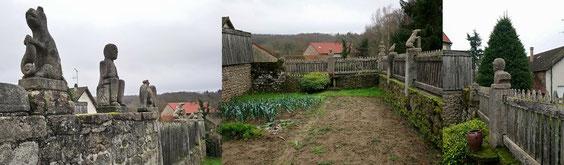 Jardin : les murs vus de l'intérieur