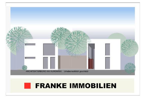 Beispiel für 2 Einfamilienhäuser im Bauhausstil