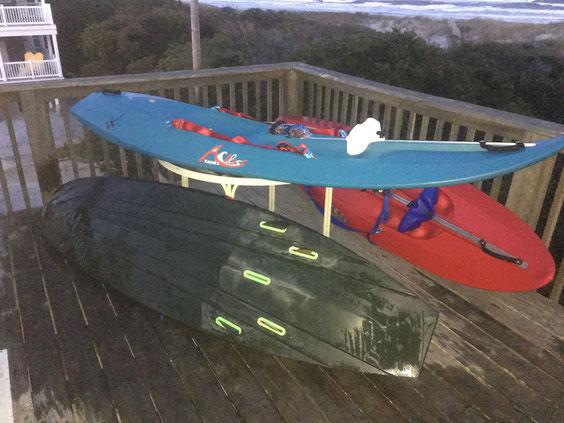 Ackless Kayaks on Display