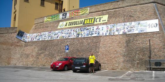 Tavullia, Heimatort von Valentino Rossi