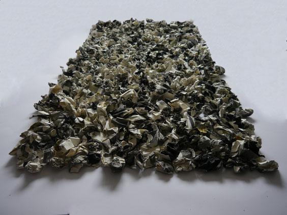 Schichtung, Acryl auf Papier, 110 x 198 cm