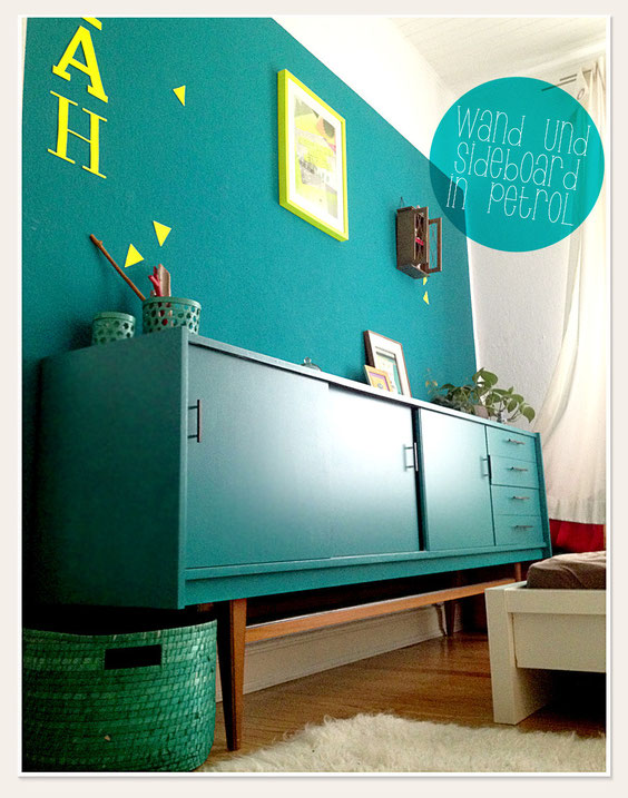 Lybstes.de Sideboard in petrol