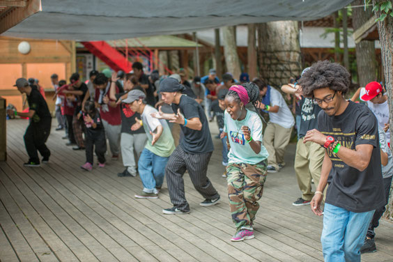street dance camp 2014