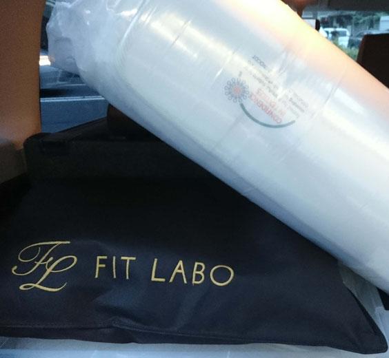 マニフレックス「モデルトリノ」とFIT LABO「オーダーメイド枕ワイド70」をお届け / マニステージ福岡