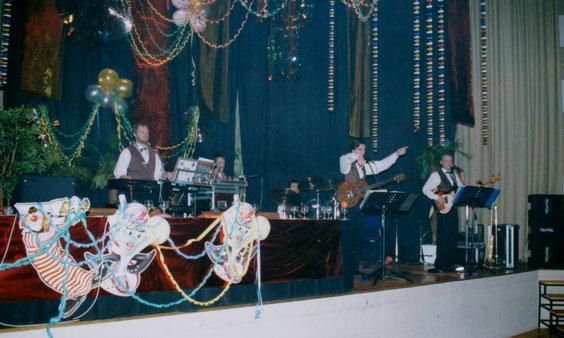 """Kapelle """"Silvermoon"""" von unserer Partnerstadt Melsungen 1993"""