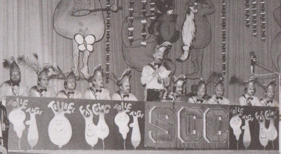 Gründungs - Elferrat 1982