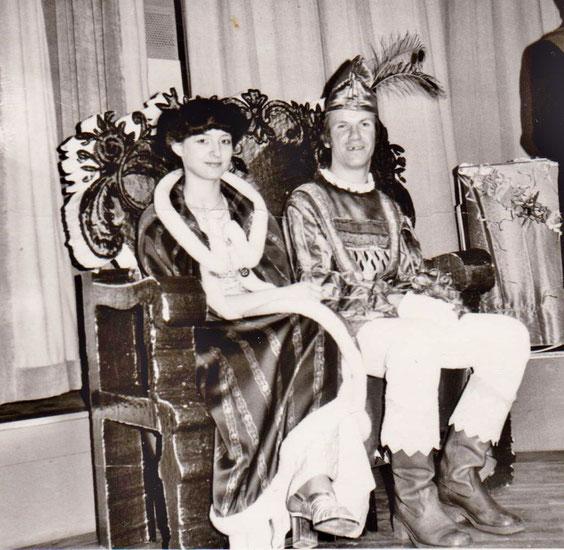 Eva-Maria Erbe und Jürgen Wisner 1982