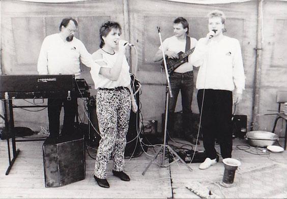 Wolfgang Ziegler, Wolfgang Fuchs, Kai Ziegler und Simone