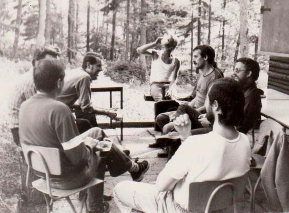 Stilles Tal 1983 mit Volker Henning, Fritz Schäfer, Eberhard Schindhelm, Eberhard Bergt, Claus Peter Ruhmann, Manfred Wunderlich & Karl-Heinz Röthig