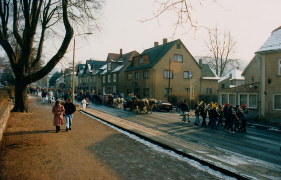 Umzug Kinderfasching 1993