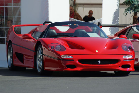 Ferrari F50 - by Alidarnic (Modena Trackdays 2011)