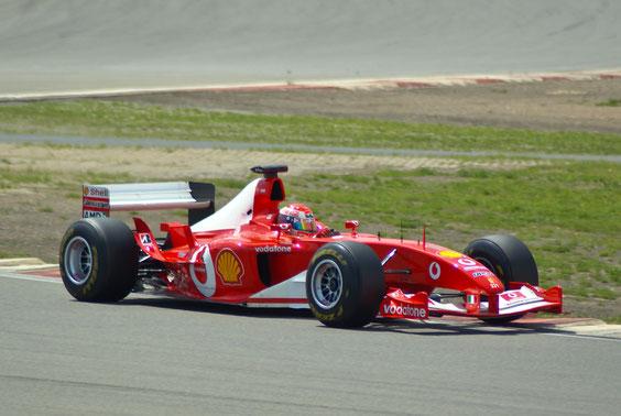 Ferrari F2003GA '03 M. Schumacher - by Alidarnic (Modena Trackdays 2011)