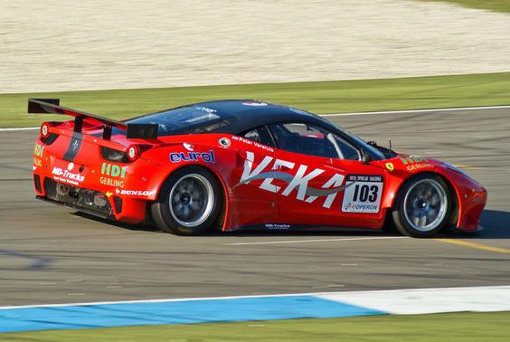 Ferrari 458 GT2- by Alidarnic