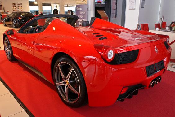 Ferrari 458 Italia Spyder - by Alidarnic