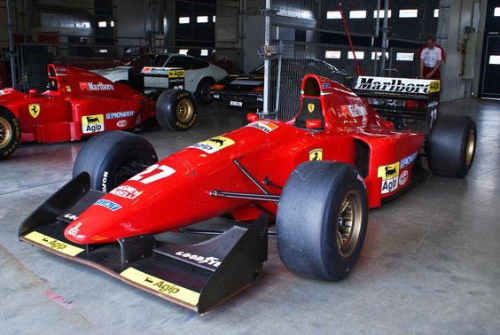 "Ferrari 412 T1 '94 ""J. Alesi"" - by Alidarnic (Modena Trackdays 2011)"