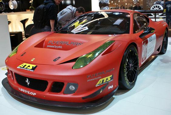 Ferrari 458 GT Italia - by Alidarnic