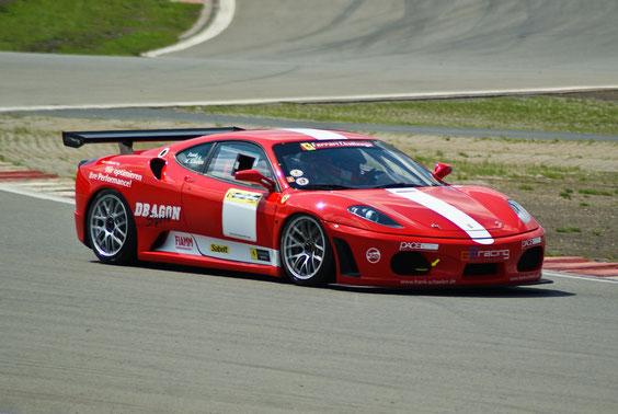 Ferrari F430 GT (by Michelotto) - by Alidarnic (Modena Trackdays 2011)