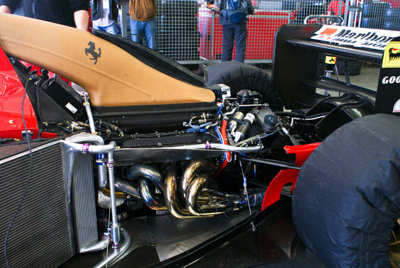 "Ferrari 412 T1 ""1994"" - J. Alesi - by Alidarnic (Modena Trackdays 2011)"
