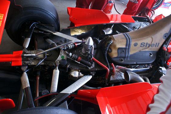 "Ferrari F1 2000 ""2000"" M. Schumacher - by Alidarnic (Modena Trackdays 2011)"
