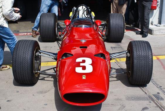 Ferrari 312 '67 - by Alidarnic (Modena Trackdays 2011)